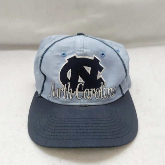 The Game Other - Vtg 80s UNC N. Carolina Tar Heels Snap Back Hat